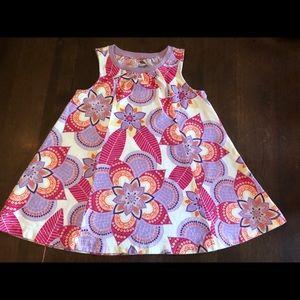 Tea collection 18-24 m cotton dress EUC